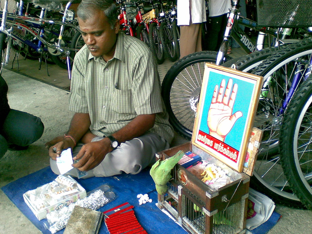 fortune teller in little india klang malaysia fortune
