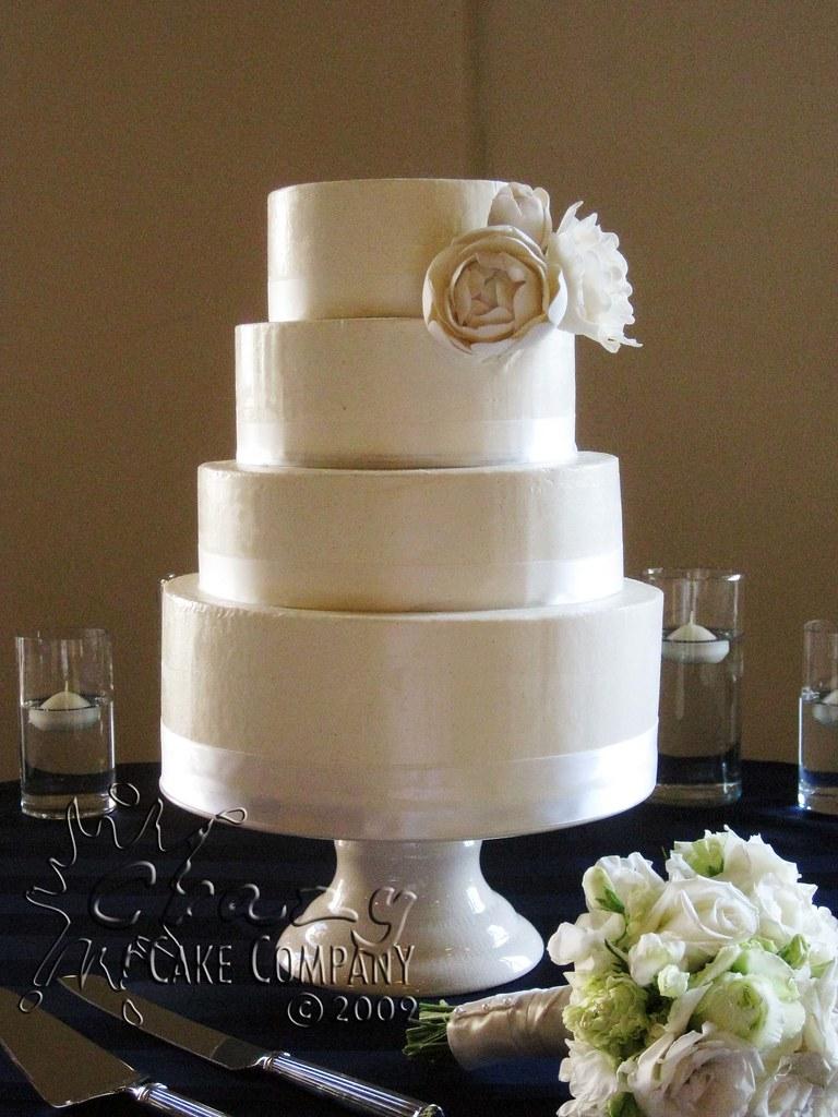 4 tier Buttercream wedding cake Four Tiered wedding cake ...