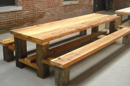 Restaurant Picnic Table.Reclaimed Wood.Hemlock copy | Flickr
