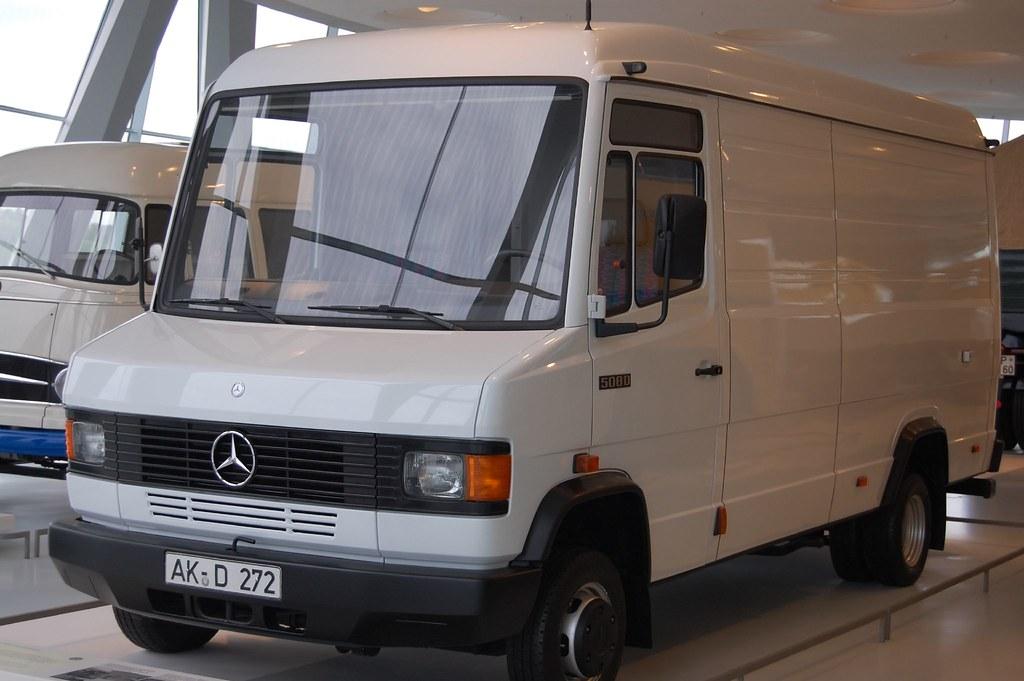 Mercedes Benz Van >> 1994 Mercedes-Benz 508D panel van | Murigu | Flickr