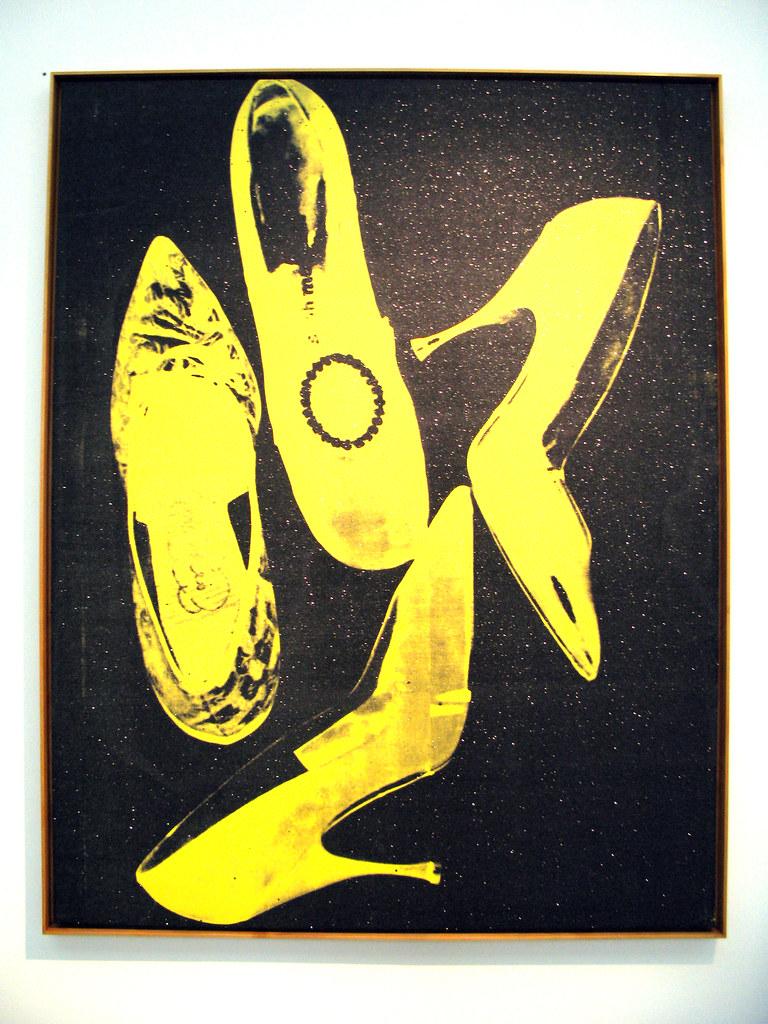 Andy Warhol Diamond Dust Shoes Vs Van Gogh Peasant Shoes
