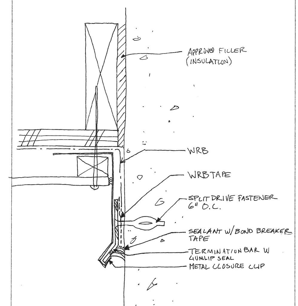 Concrete Frame To Wood Frame Wall At Inside Corner Details