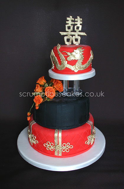 Wedding Cake 571 Chinese Style 6 8 Amp 10 Inch With