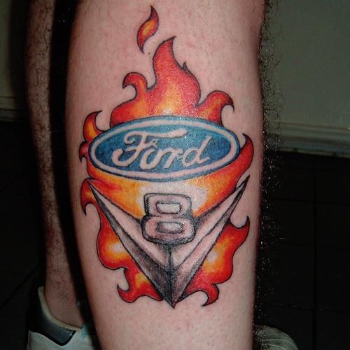 V8 Piston Tattoo V8 | Rebel Tattoo | Fl...