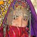 Turkmen bride, Ashgabat, Turkmenistan, May 13, 2008