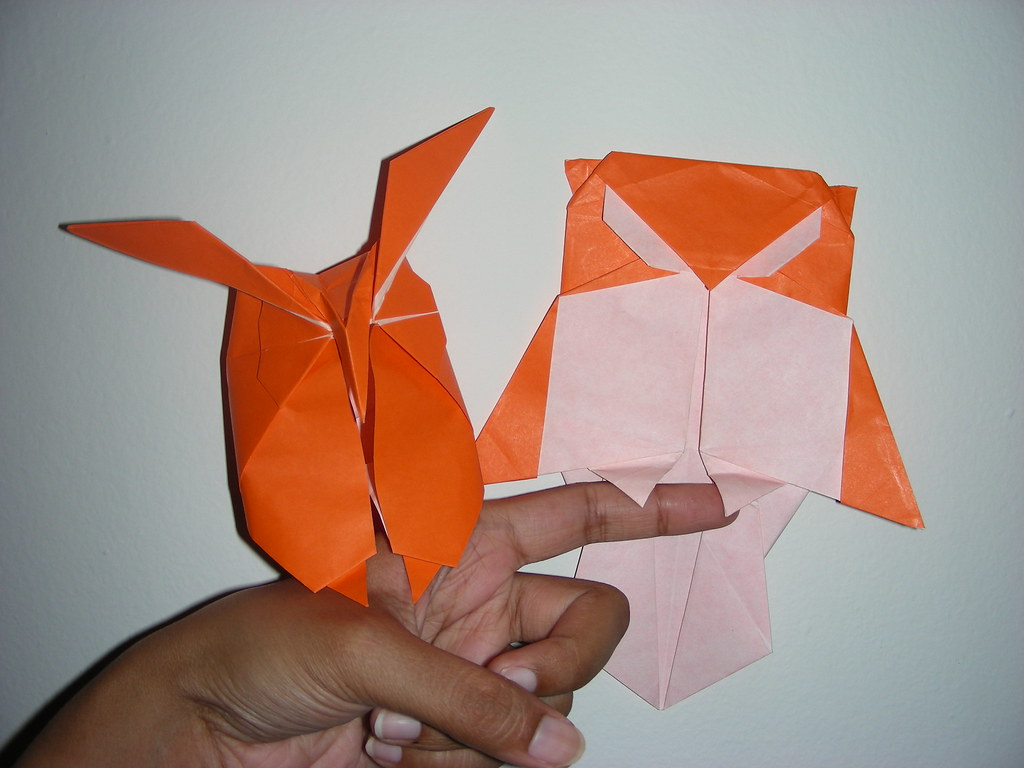 Origami Owls Designs By Hideo Komatsu And Stephen Weiss Flickr