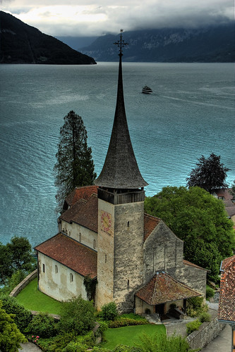 The Schlosskirche at Schloss Spiez | by Ed Coyle Photography