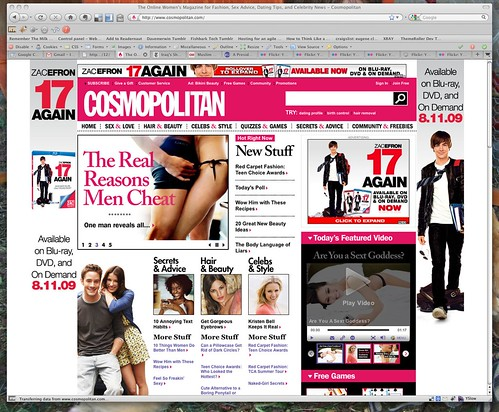 The Women's Magazine For Fashion, Sex Advice, Dating Tips, And Celebrity News 3