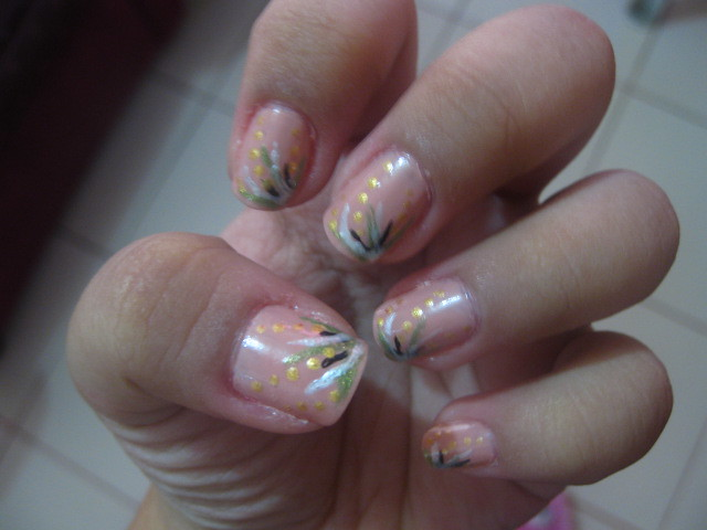 Nail Art Design Abstract Nail Art Design Actualy I Copied Flickr