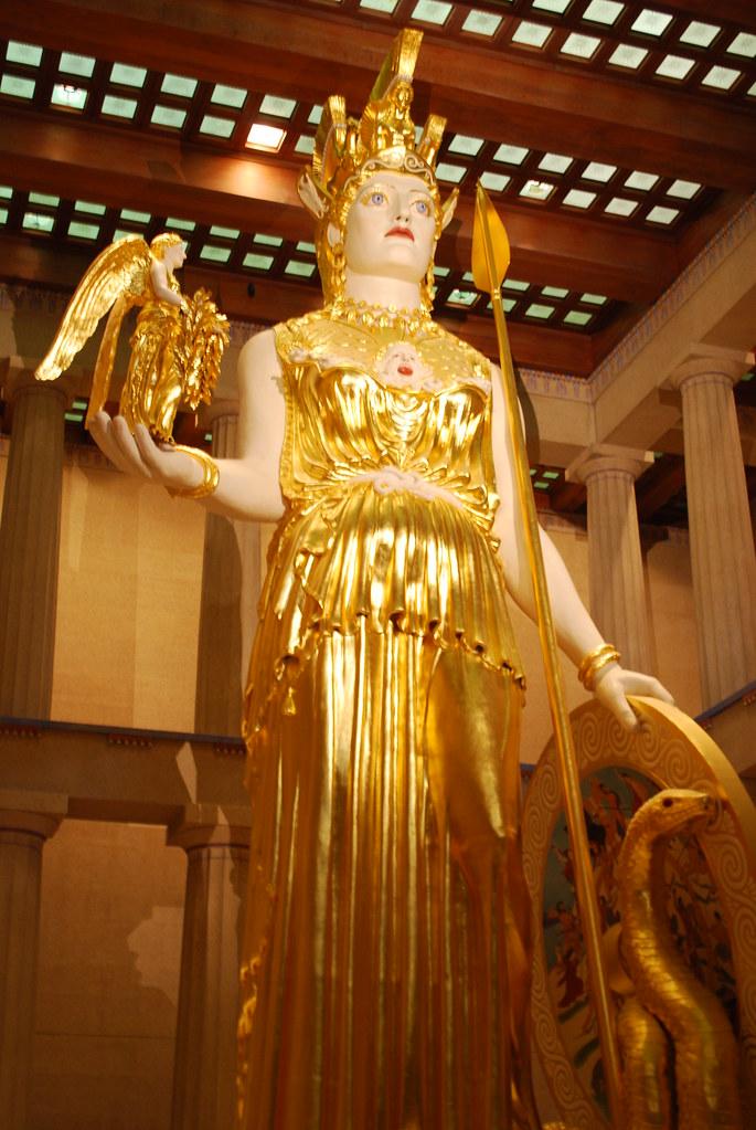 Athena Nashville Tn Inside The Nashville Parthenon Is