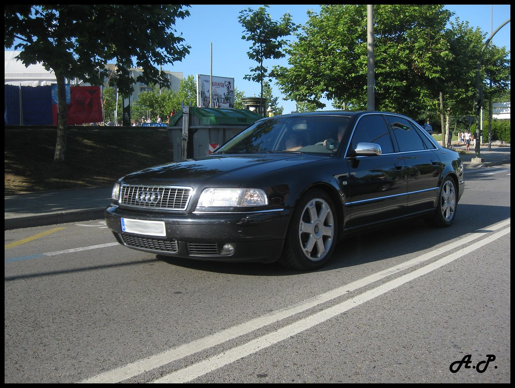 2002 Audi S8 D2 [Typ 4D] | Spotted in Santander (Cantabria ...