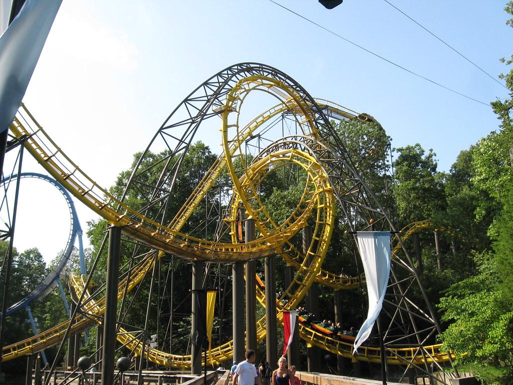 Busch Gardens Williamsburg Loch Ness Monster Mmccouch Flickr