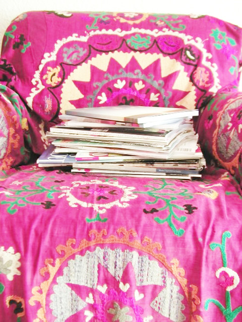 English muse blogged today on decor8 decor8 holly flickr - Telas para cubrir sofa ...