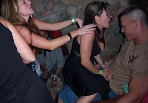 Wife Gets A Lap Dance