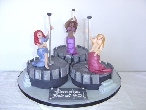 Pole Dancer Cake Design : Pole Dancing Cake Everything is edible Kim Flickr