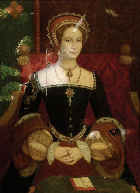 Queen Mary I, daughter...