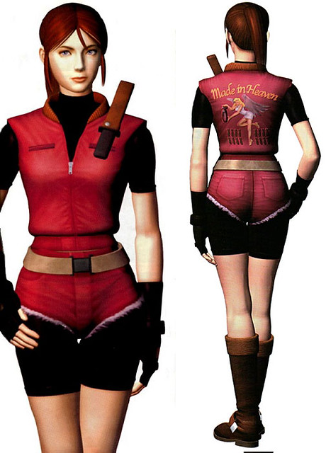 Image result for resident evil 2 claire redfield