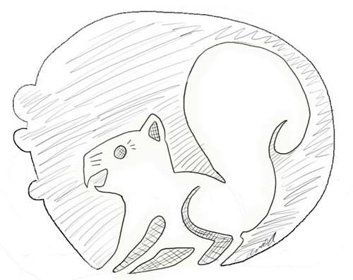 The Pesky Squirrel Pumpkin Pattern!