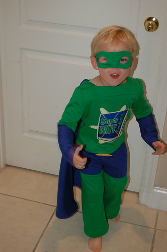 Nate as Superwhy! | by Dineen
