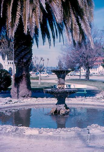 santa cruz fountain by mission a fountain by mission