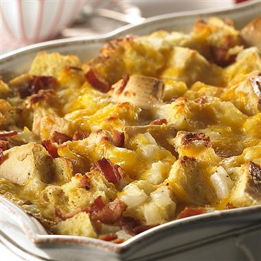 Cheesy Bacon & Egg Brunch Casserole | by McCormick Kitchens