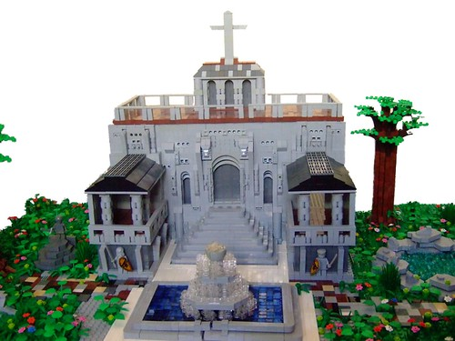 Temple For Worshipping Lego God. | by Dylan B..