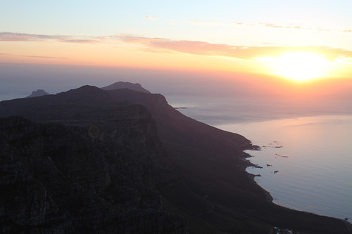Sunset from Table Mountain | by flowcomm