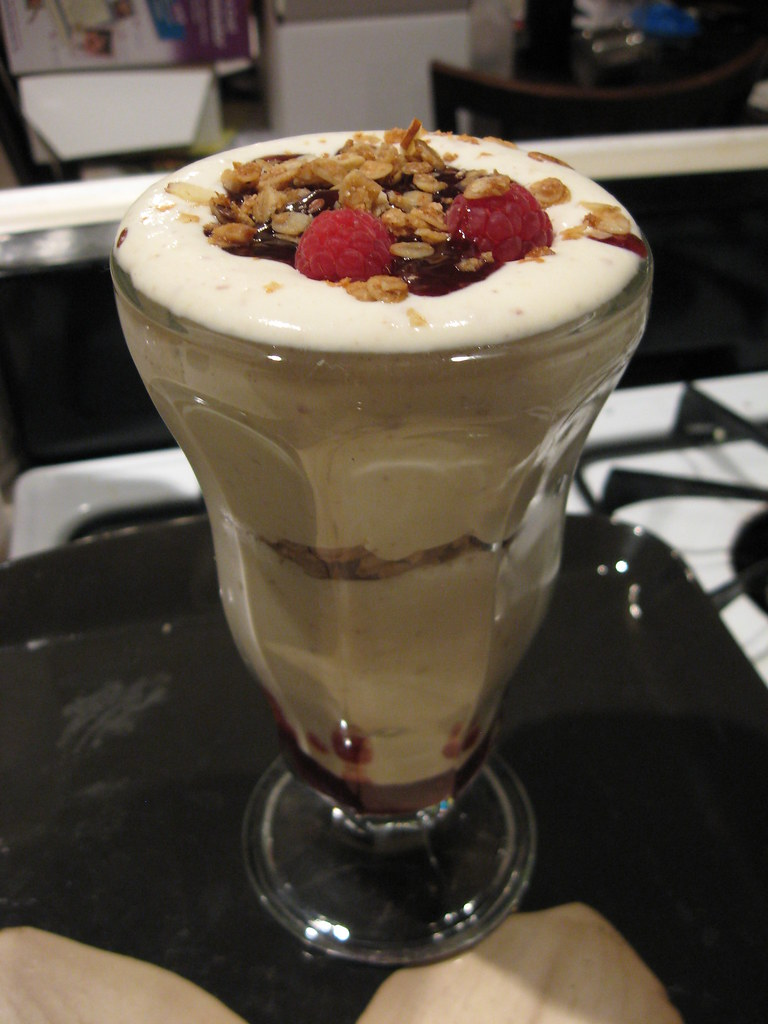 Raspberry syllabub | Lonnon Foster | Flickr