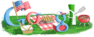 Google July 4th Logo | by rustybrick