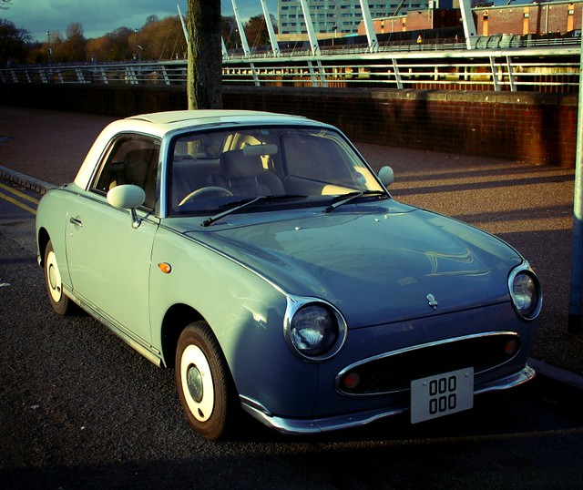 I Want One! Its A Nissan Figaro Coupe (thanks