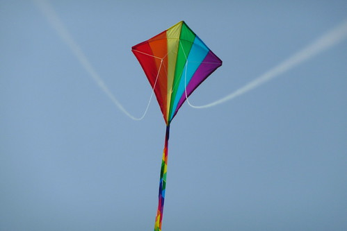 Geometric kites in real life