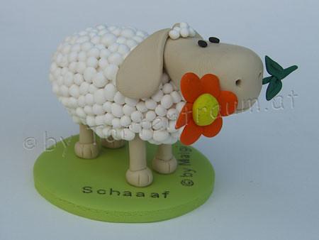 Schaf Mit Blume Sheep Tortenfiguren Flickr