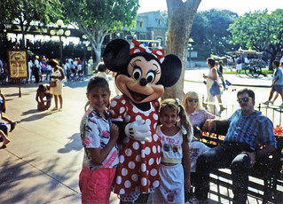 1990-Vic-Alex-with Minnie Mouse | by RedReplicant