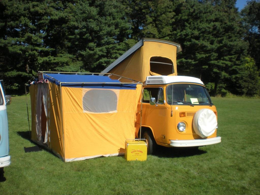 Volkswagen Campmobile With Auxiliary Tent Volkswagen