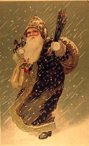 Vintage Christmas/Santa Claus Postcard | by Suzee Que