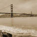 Golden Gate Sepia Old-style