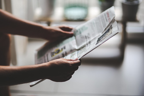 man hands reading boy news paper - Credit to https://homethods.com/ | by homethods