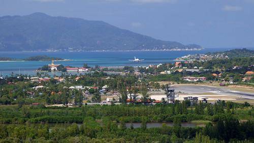 今日のサムイ島 2月25日飛行機撮るならポイント