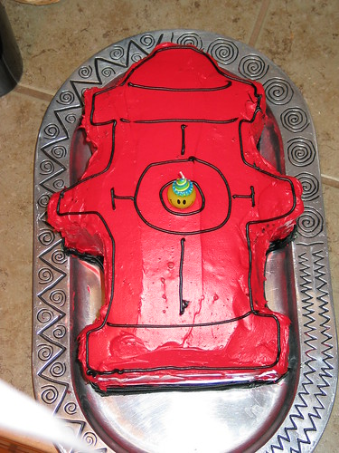 Fire Hydrant Cake Pan