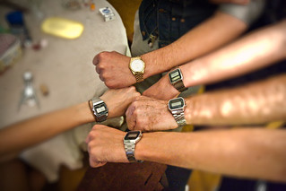 the family that wears 1980's casio watches together, stays together | by boltron-