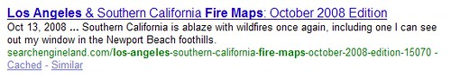 Los Angeles Fire Map Result | by search-engine-land