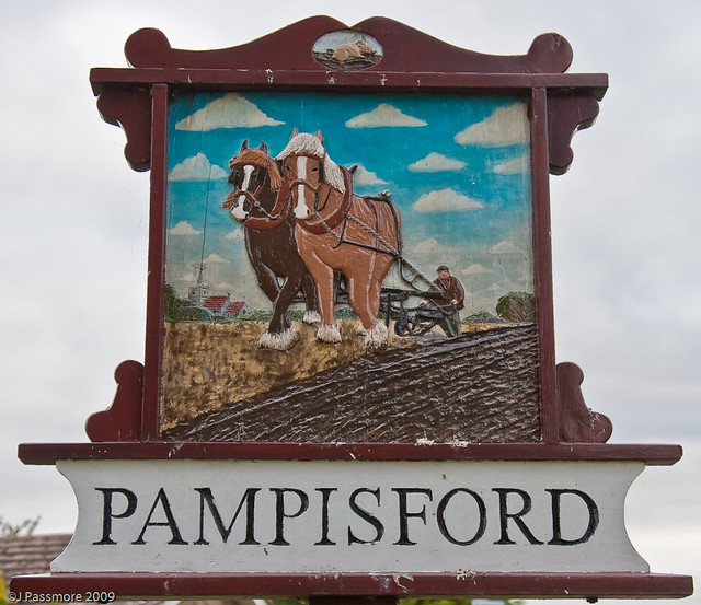Pampisford Village Sign