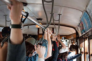Hold Tight (in the MUNI streetcar) | by Images by John 'K'