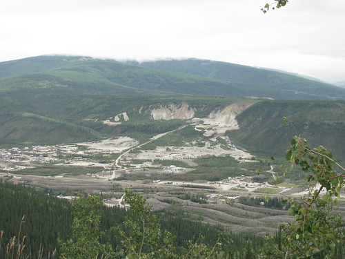 View of Dawson City from the Midnight Dome, Dawson City, Yukon | by Arthur Chapman