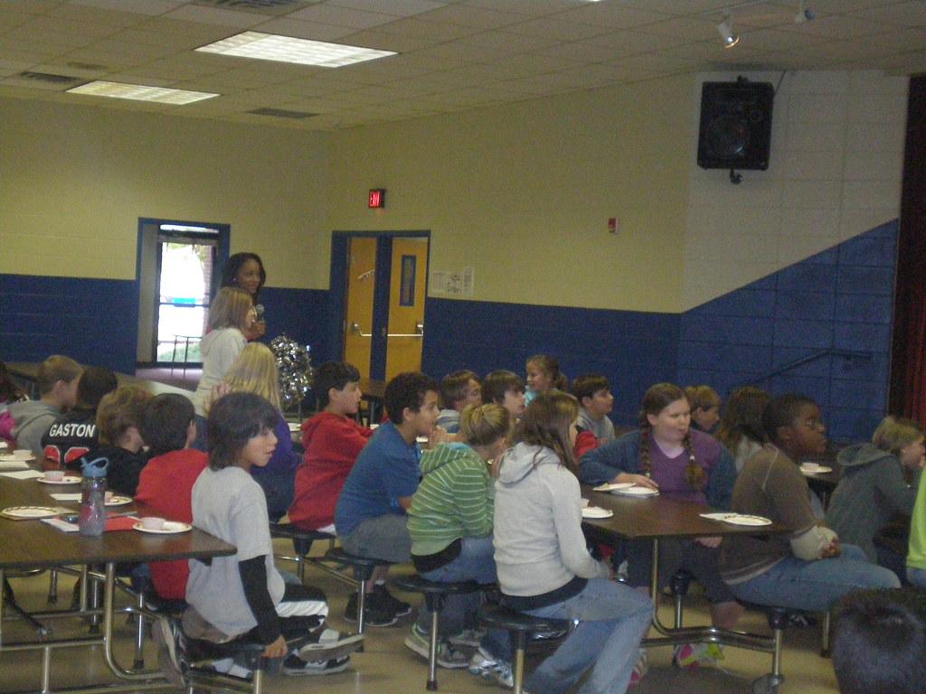 Chef Lizzy Visit To Johnston Elementary School Nine Year