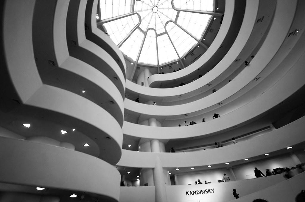 Inside the Guggenheim New York | Designed by Frank Lloyd ...  Guggenheim Inside