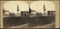 Stereoview of Governor Bourke's Statue Sydney, 1858 - 1860 | by Powerhouse Museum Collection