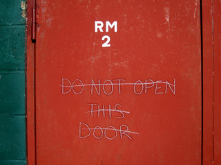 Don't, do not open this door... | by withassociates