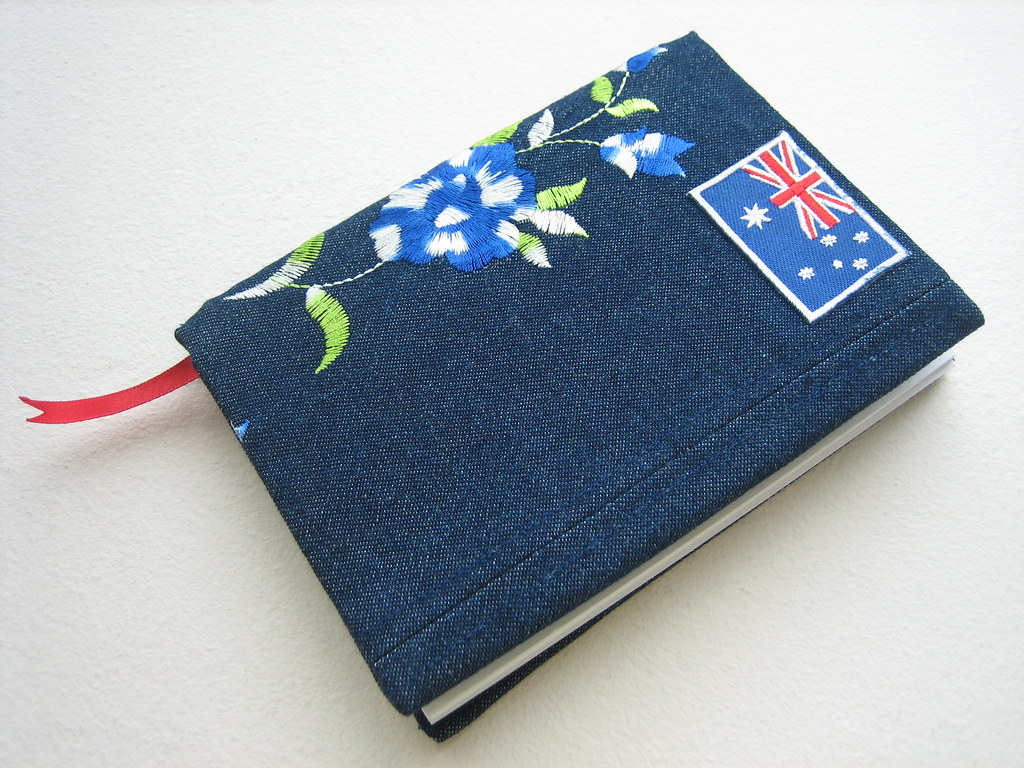 Book Cover White Jeans : Denim book cover with australian flag i luv my art flickr