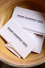 business cards | by David Lebovitz